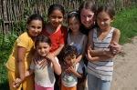 Kim & the kids